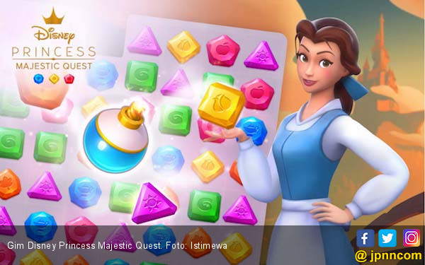 Gameloft Luncurkan Gim Disney Princess Majestic Quest