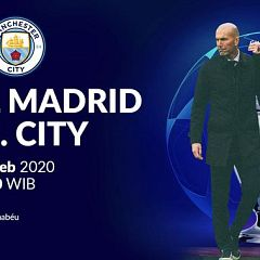 Link Live Streaming SCTV Liga Champions Real Madrid vs Manchester City